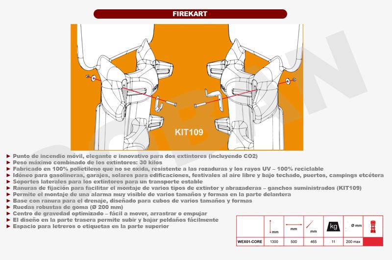 Especificaciones y funcionamiento del firekart